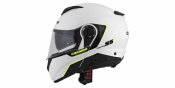 Se poate monta in casca integrala CASSIDA COMPRESS 2.0 REFRACTION white / black / yellow fluo S