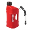 Utility can POLISPORT PROOCTANE 10 l with standard cap + 100 ml mixer + hose clear red
